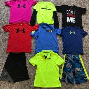 Boys 10-12 Medium Under armor